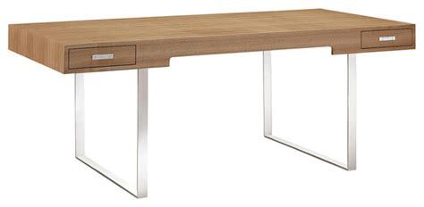 modern wooden desk stratford wood desk modern desks and hutches miami
