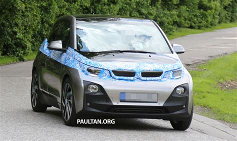 Different Bmw Models by Bmw I3 Production Car Sighted Two Different Models Image