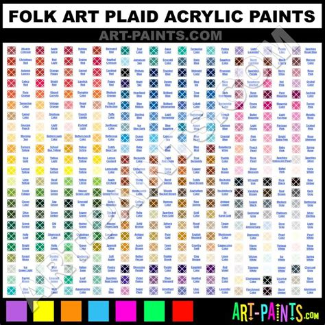 acrylic paint color chart folk acrylic paint color chart crafts general