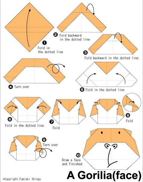 how to make a origami monkey 17 best images about origami on elephant