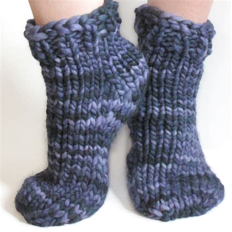 easy knit sock pattern free bulky sock pattern for magic loop toe up or top