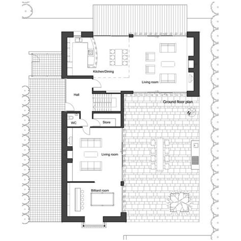 l shaped house floor plans l shape house plan by architect frank mcgahon house
