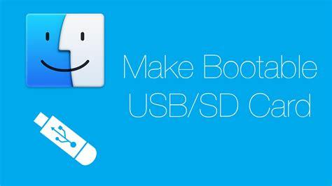 make an sd card bootable mac tutorials 17 make bootable usb sd card