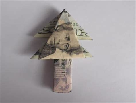 origami money tree origami using money lovetoknow