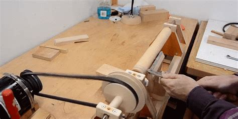 woodworking tools you can make build a wood lathe from scratch