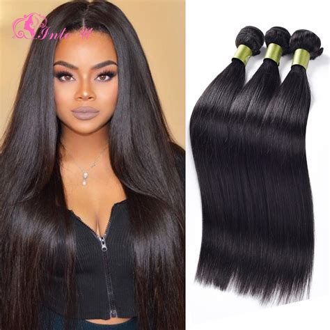 malaysian traditional hair styles 7a unprocessed malaysian virgin hair straight 3 bundles