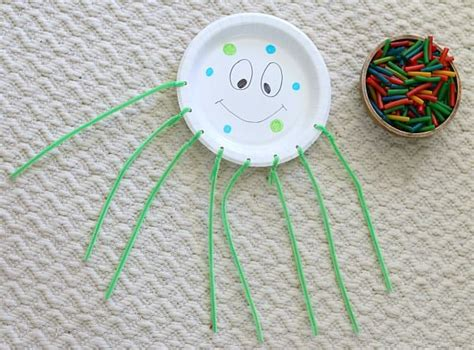 octopus paper plate craft motor octopus craft for
