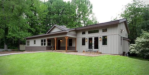 Raised Cottage House Plans back at the ranch a midcentury home gets a new look and