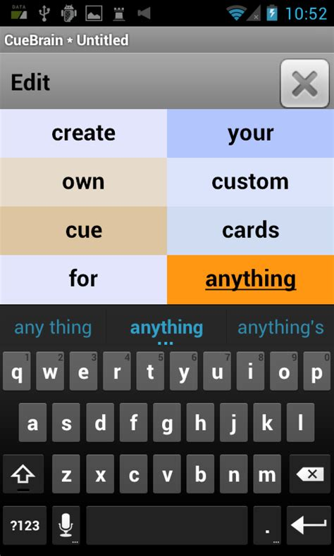make your own cue cards cuebrain learn more android apps on play