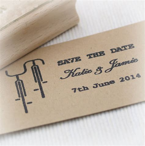 rubber date st wedding save the date rubber st by beautiful day