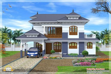 style home designs 4 bedroom 2235 sq ft kerala style house kerala home design and floor plans