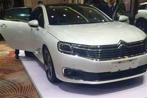 Citroen C6 Price by Citroen C6 China Only Flagship Revealed Ahead Of Beijing