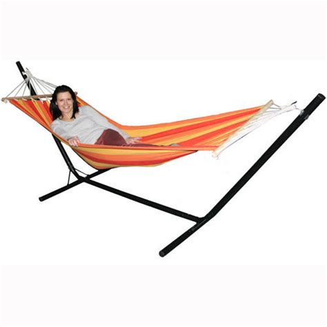 outdoor hammock with stand redstone garden hammock with stand hammocks cybercheckout co uk buy now