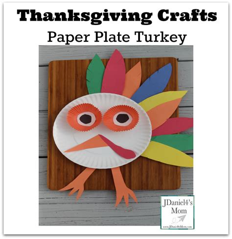 easy thanksgiving paper crafts thanksgiving crafts paper plate turkey