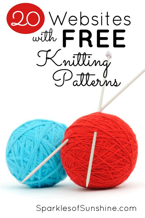 knitting website 20 websites with free knitting patterns sparkles of