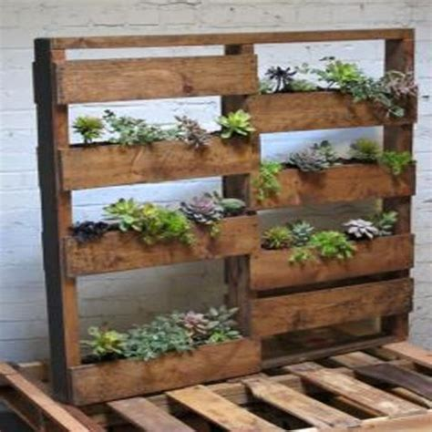 pallet planter boxes fluff other stuff pallet planter boxes