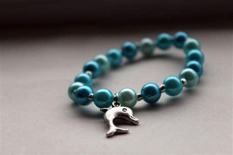 handmade bead bracelets handmade blue beaded bracelet with tibetan silver by