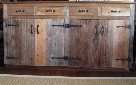 barn wood kitchen cabinets reclaimed wood kitchen cabinets