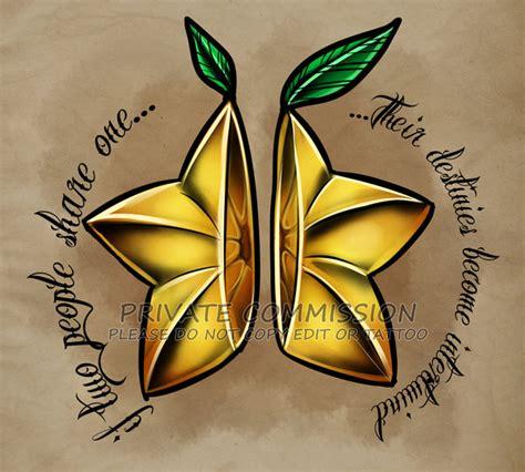 paopu fruit tattoo commission by retkikosmos on deviantart