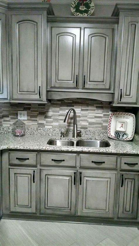 how to paint kitchen cabinets black valspar aspen grey and black glaze painting cabinets