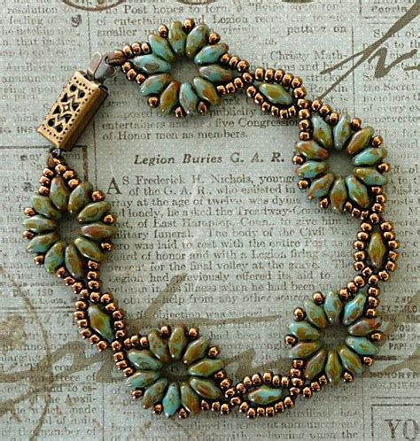 superduo bead patterns s crafty inspirations bracelet of the day superduo