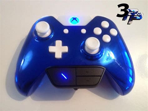 spray paint your xbox 360 controller custom xbox one controller puck chrome blue with all