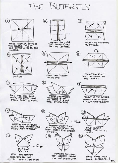 origami butterfly steps origami butterfly make it for a simple sweet souvenir