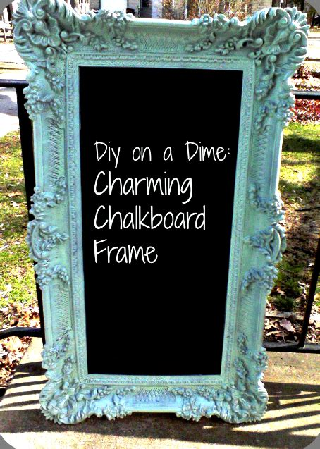 diy chalk paint picture frame 40 cheap diy projects for small apartments