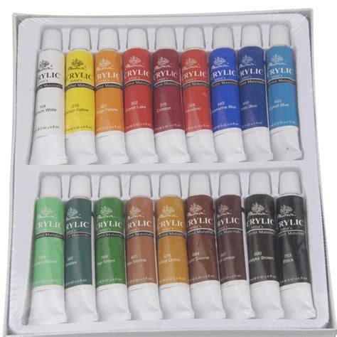 difference in acrylic paint quality unique quality 18 colors acrylic paint buy acrylic paint