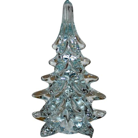 tree glass lead glass tree sold on ruby