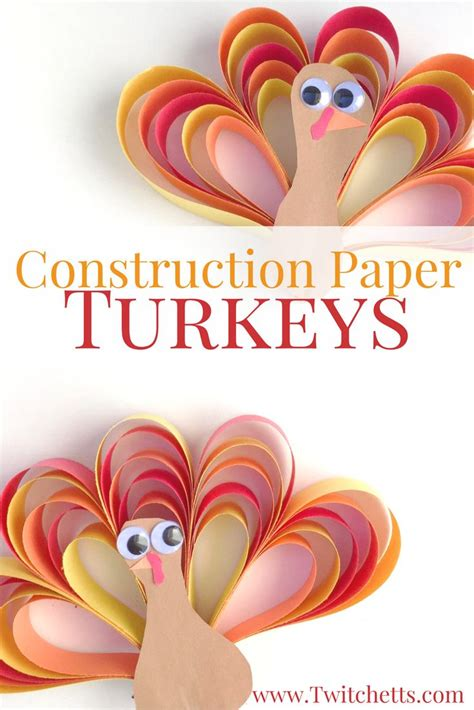 thanksgiving crafts construction paper 25 best paper strips ideas on