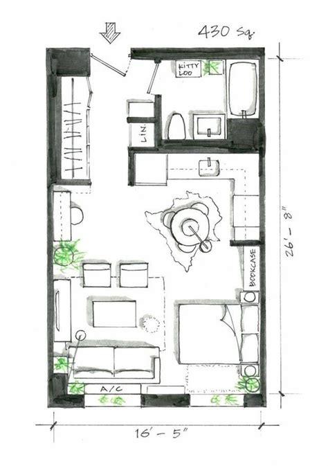 Studio Apartment Floor Plans Furniture Layout best 25 studio apartment layout ideas on pinterest