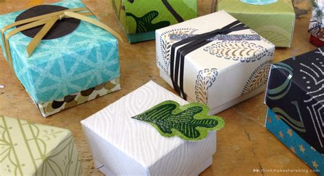 how to make boxes out of card learn to make tiny gift boxes out of last year s greeting