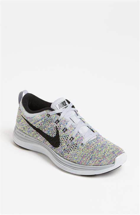 Nike Flyknit Lunar1 Running Shoe In Multicolor Wolf Grey