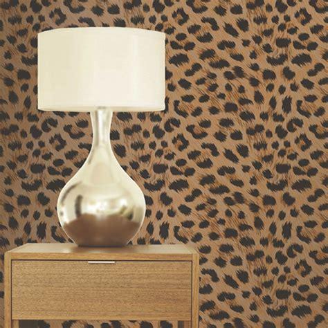 leopard print wallpaper for bedroom leopard print wallpaper gold brown pattern bedroom