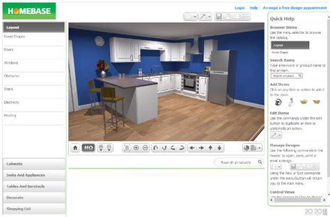 Homebase Kitchen Designer five of the best online kitchen design apps acity life