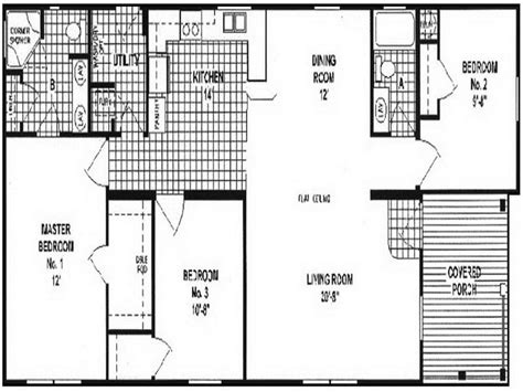 small manufactured homes floor plans manufactured homes floor plans floor plans chion 381l