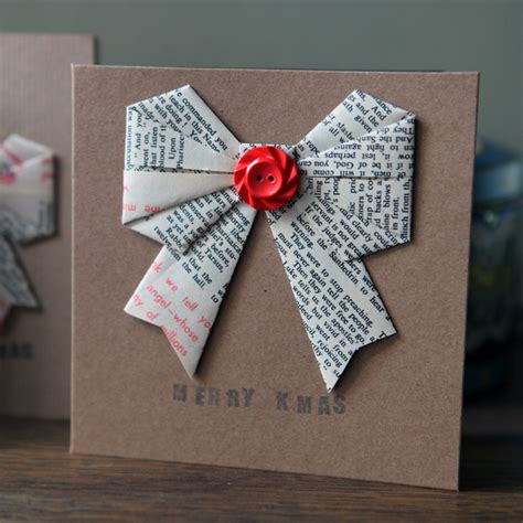 how to make a origami card card origami bow 187 pretty dandy