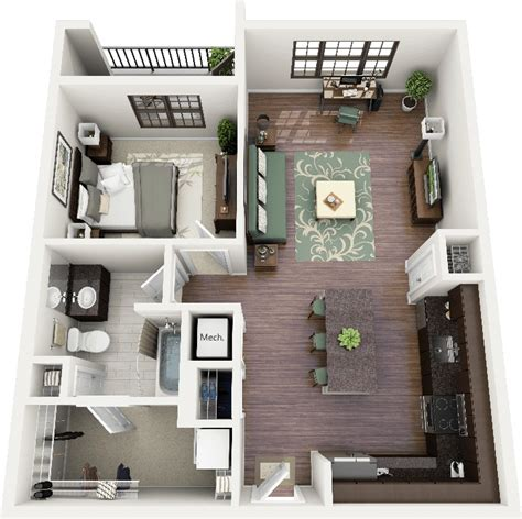 one room apartment design 50 one 1 bedroom apartment house plans architecture