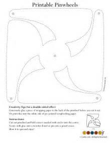 pinwheel paper craft color your own pinwheel woo jr activities