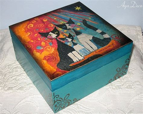 decoupage box decoupage box do it yourself