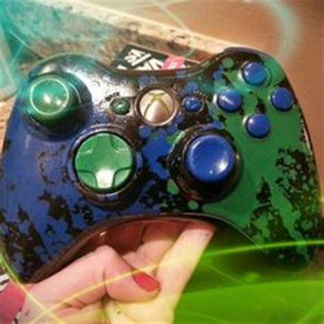 spray paint xbox 360 controller custom minecraft controller for xbox 360 minecraft