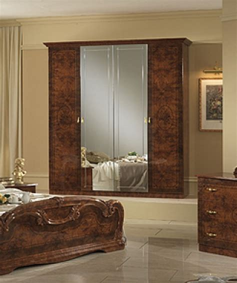 walnut bedroom furniture sets italian high gloss walnut bedroom furniture set homegenies