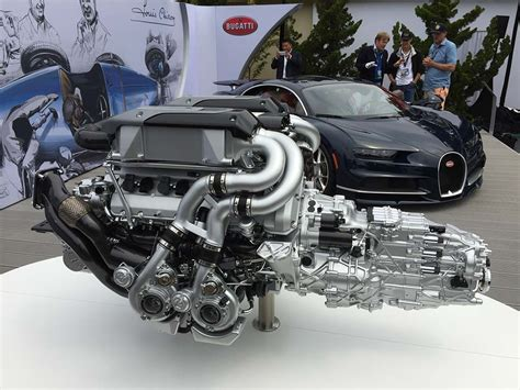 Bugati Engine by Engine 2016 Bugatti Chiron Engine Free Engine Image For