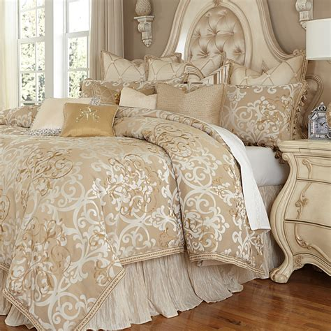michael bed set luxembourg luxury bedding set michael amini bedding