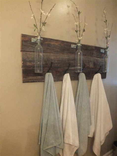 Bathroom Towel Rack Ideas best 25 towel bars ideas on pinterest rustic towel bars