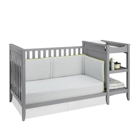 baby crib and changing table set 2 in 1 convertible crib and changing table combo set in