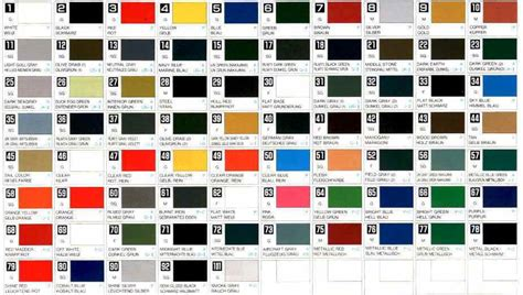 acrylic paint colors mr color solvent based acrylic paint