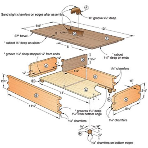 woodworking plans for boxes woodworking plans for a cigar box woodproject