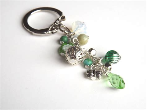 beaded keychains handmade beaded keychain key chain bag charm accessories